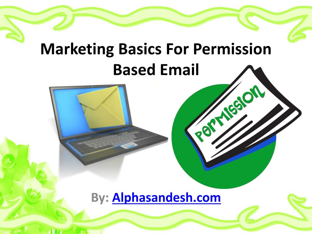 marketing basics for permission based email l.