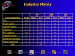 industry matrix