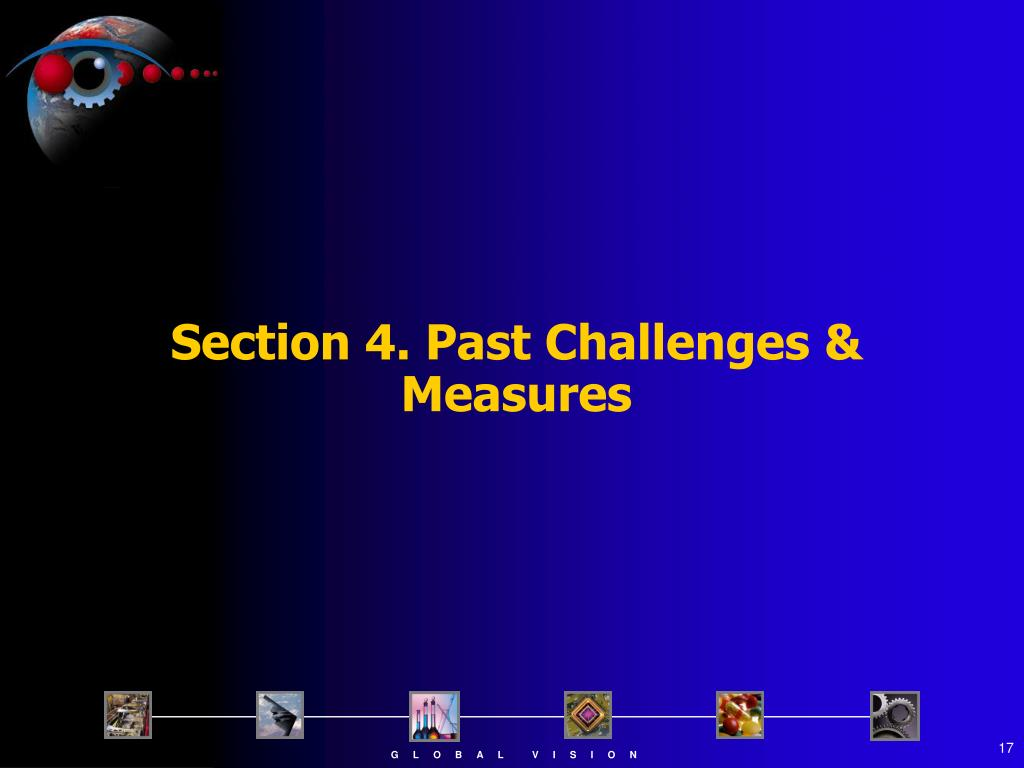 Section 4. Past Challenges & Measures