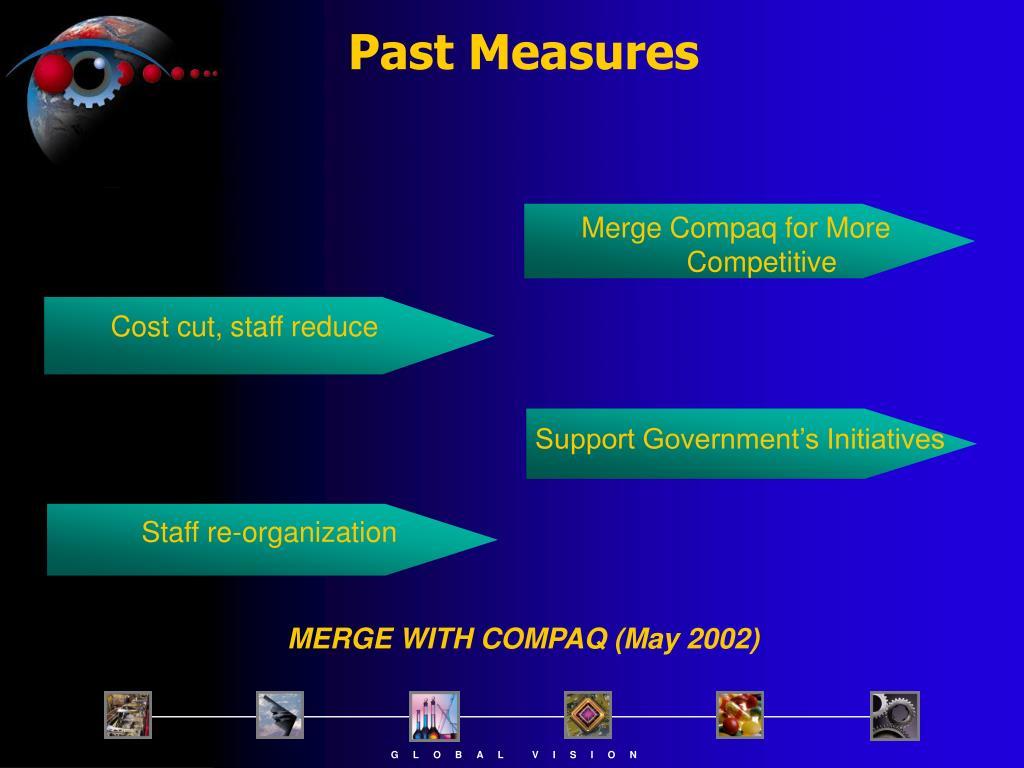 Past Measures