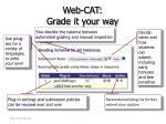 web cat grade it your way