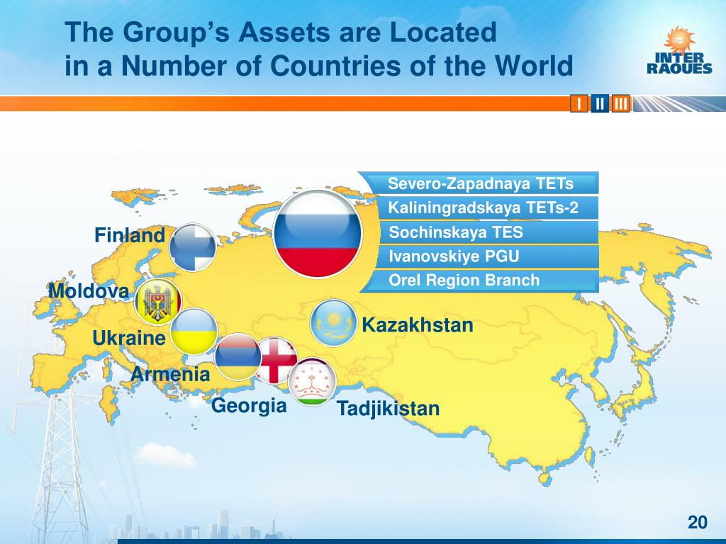 The Group's Assets are Located