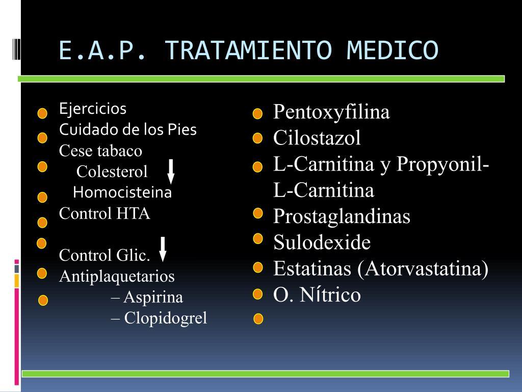 E.A.P. TRATAMIENTO MEDICO