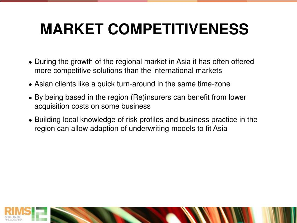 MARKET COMPETITIVENESS