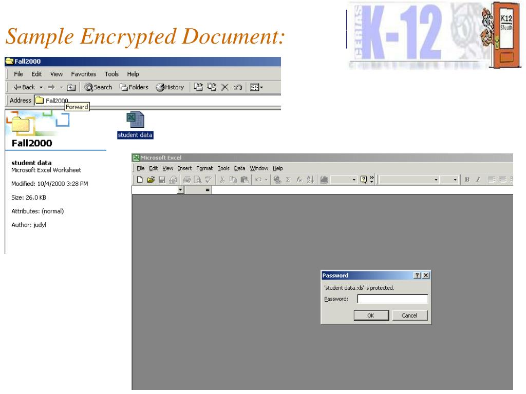 Sample Encrypted Document:
