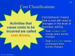 cost classifications1