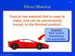 direct material