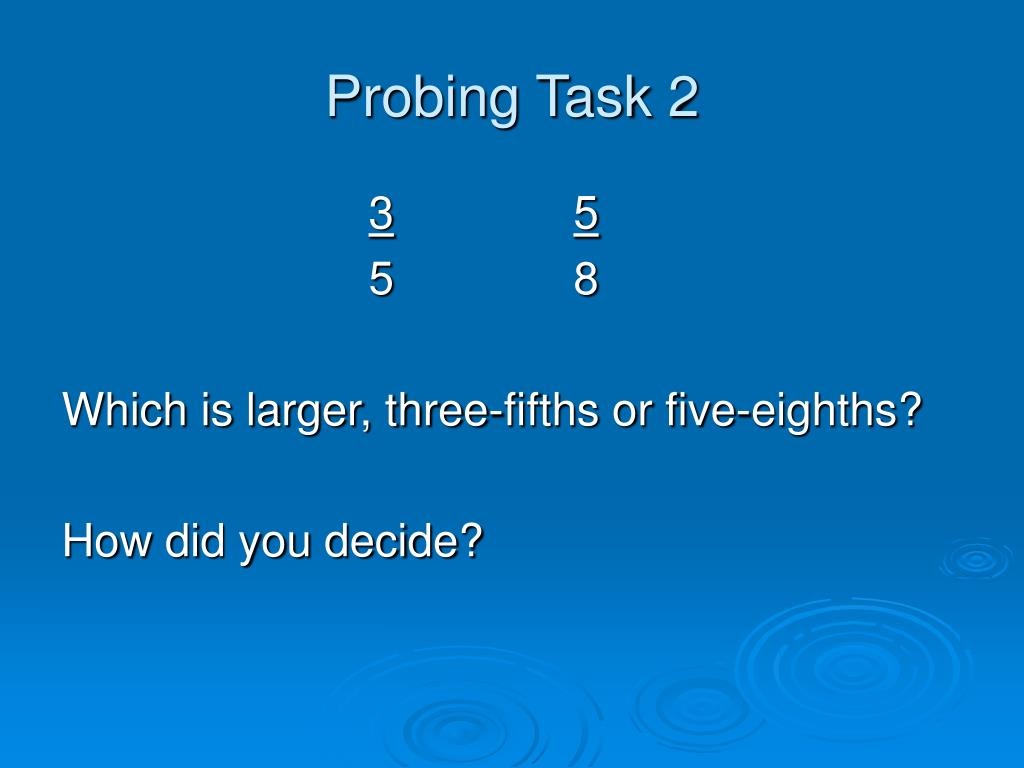 Probing Task 2