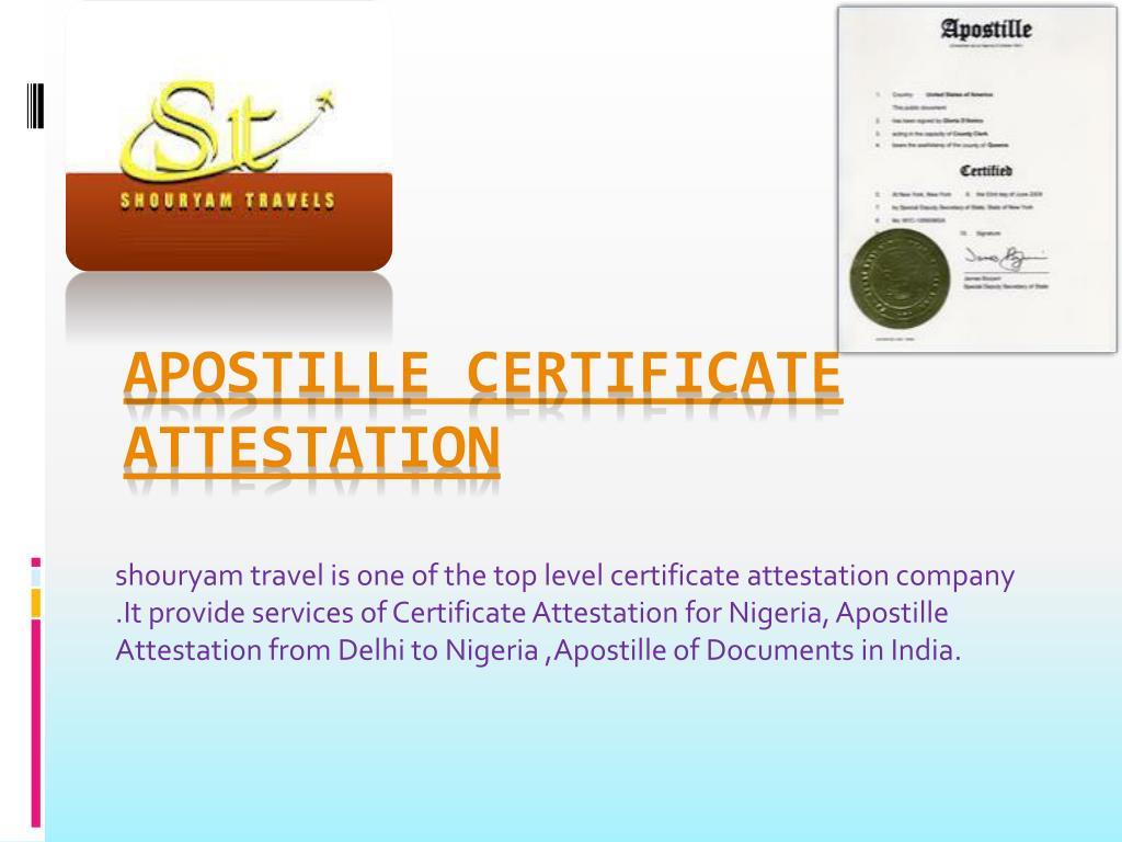 apostille certificate attestation l.