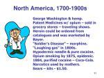 north america 1700 1900s