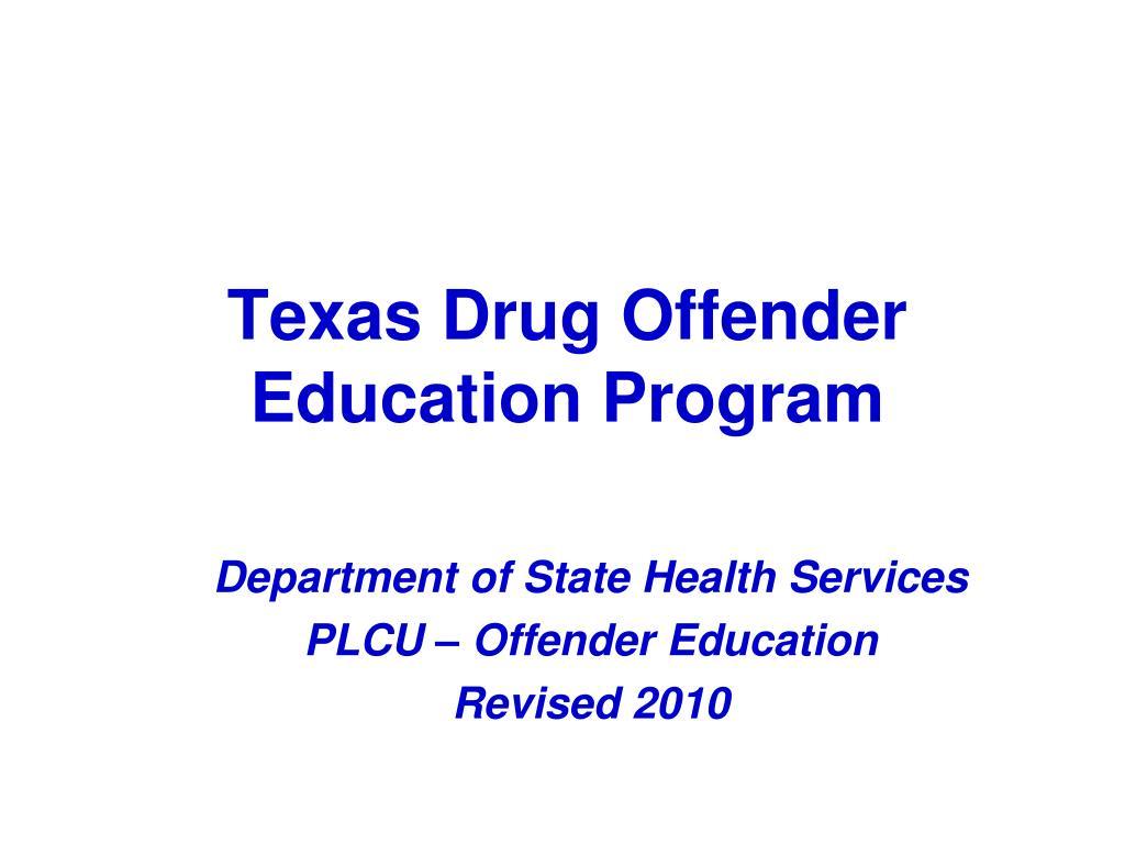 texas drug offender education program l.