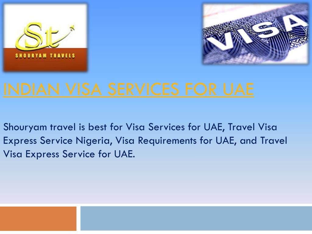 indian visa services for uae l.