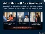 vision microsoft data warehouse