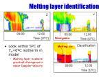 melting layer identification1