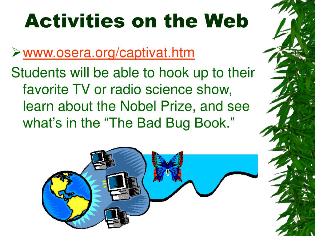Activities on the Web