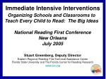 organizing schools and classrooms to teach every child to read the big ideas