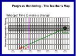 progress monitoring the teacher s map