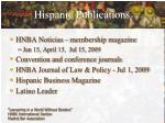 hispanic publications