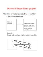 directed dependence graphs