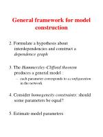 general framework for model construction4