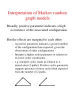 interpretation of markov random graph models
