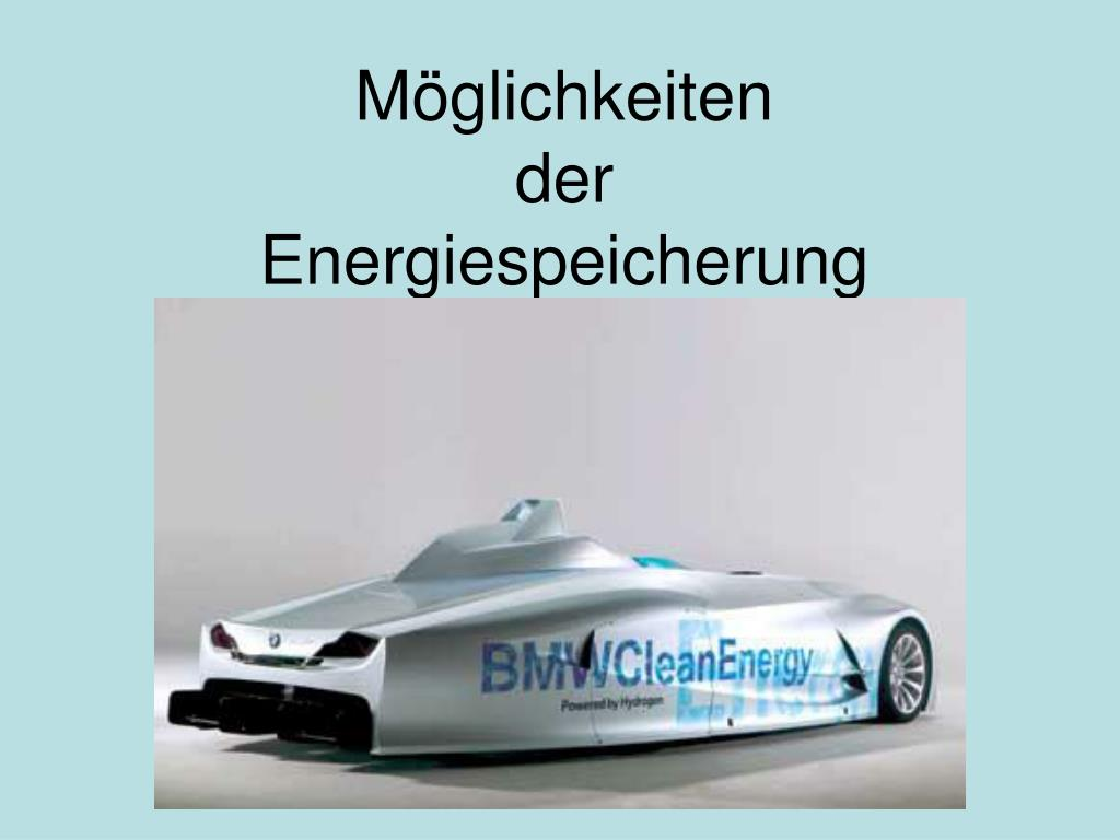 m glichkeiten der energiespeicherung l.