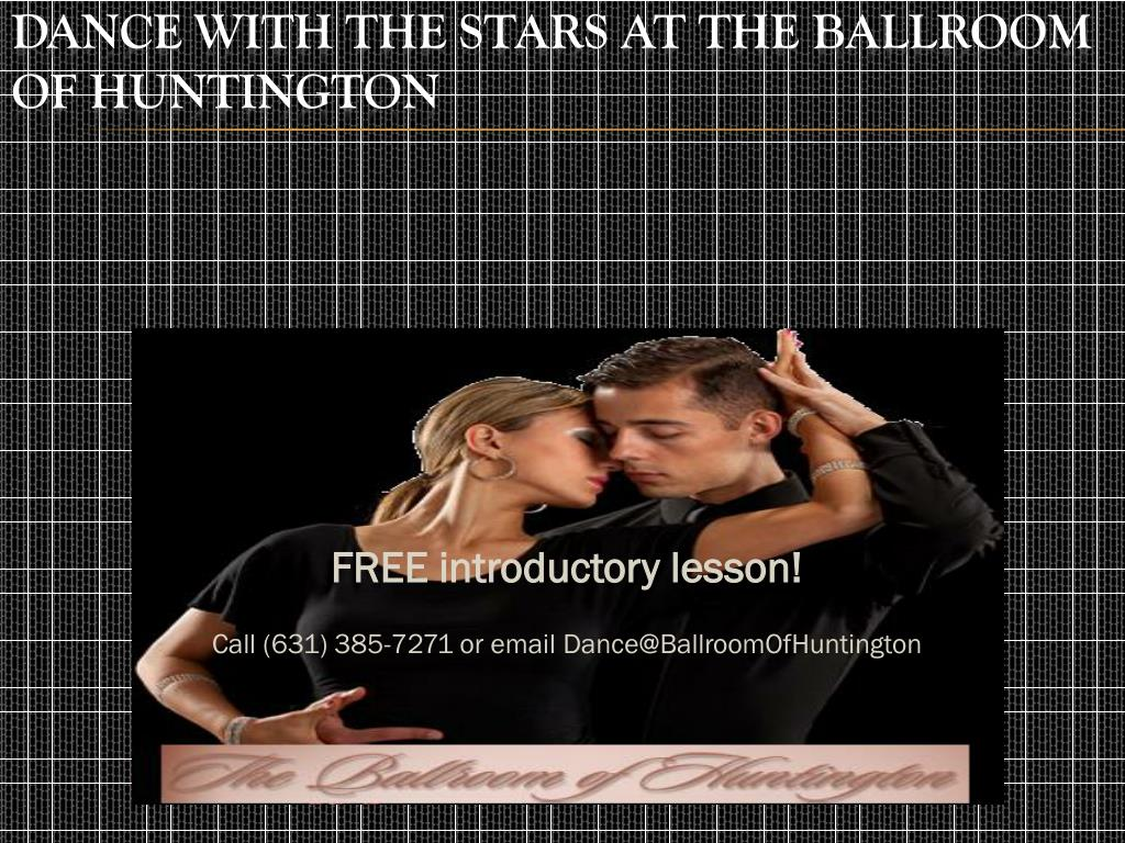 dance with the stars at the ballroom of huntington l.