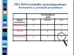 tba 4110 geoteknikk materialegenskaper bestemmelse av geoteknisk prosjektklasse6