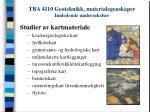 tba 4110 geoteknikk materialegenskaper innledende unders kelser
