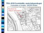 tba 4110 geoteknikk materialegenskaper utarbeidelse av borplan sintef medtek