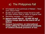 a the philippines fall