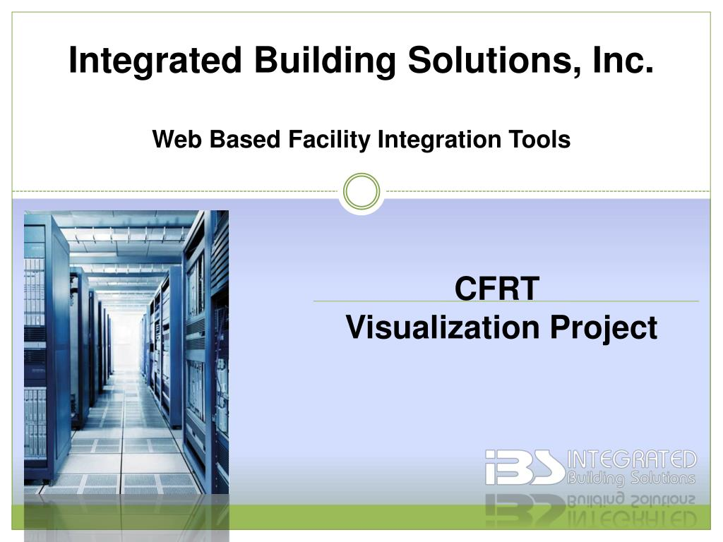 integrated building solutions inc web based facility integration tools l.