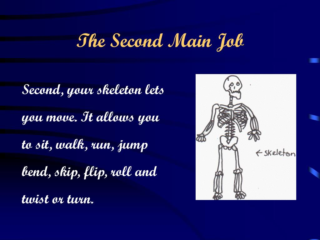 The Second Main Job