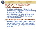 training extension