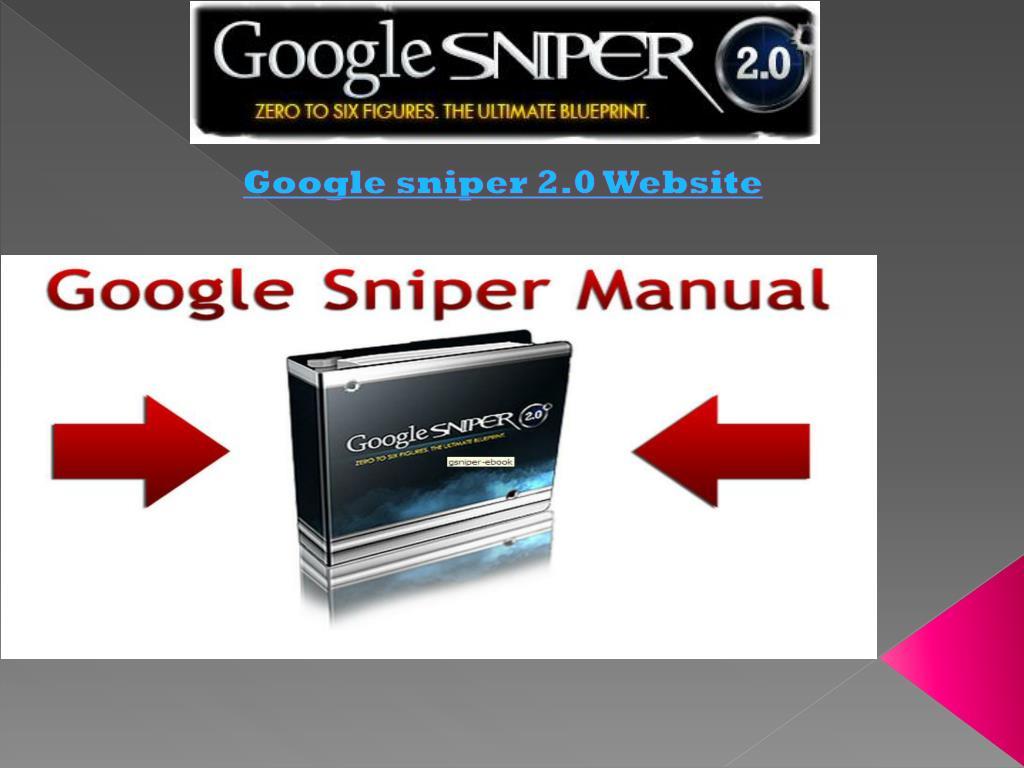 google sniper 2 0 website l.