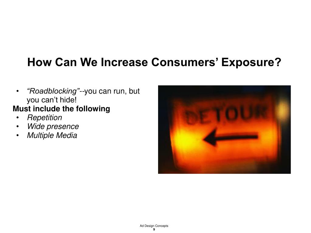 How Can We Increase Consumers' Exposure?