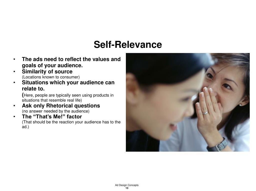 Self-Relevance
