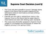 supreme court decision cont d