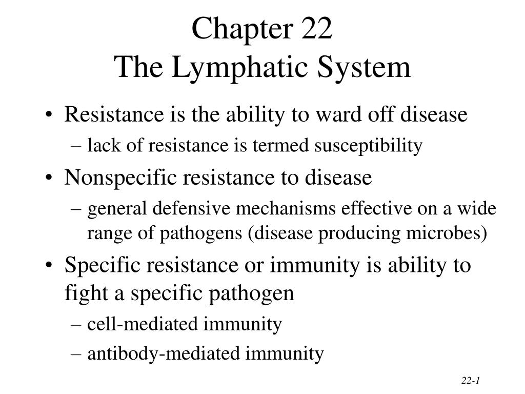chapter 22 the lymphatic system l.