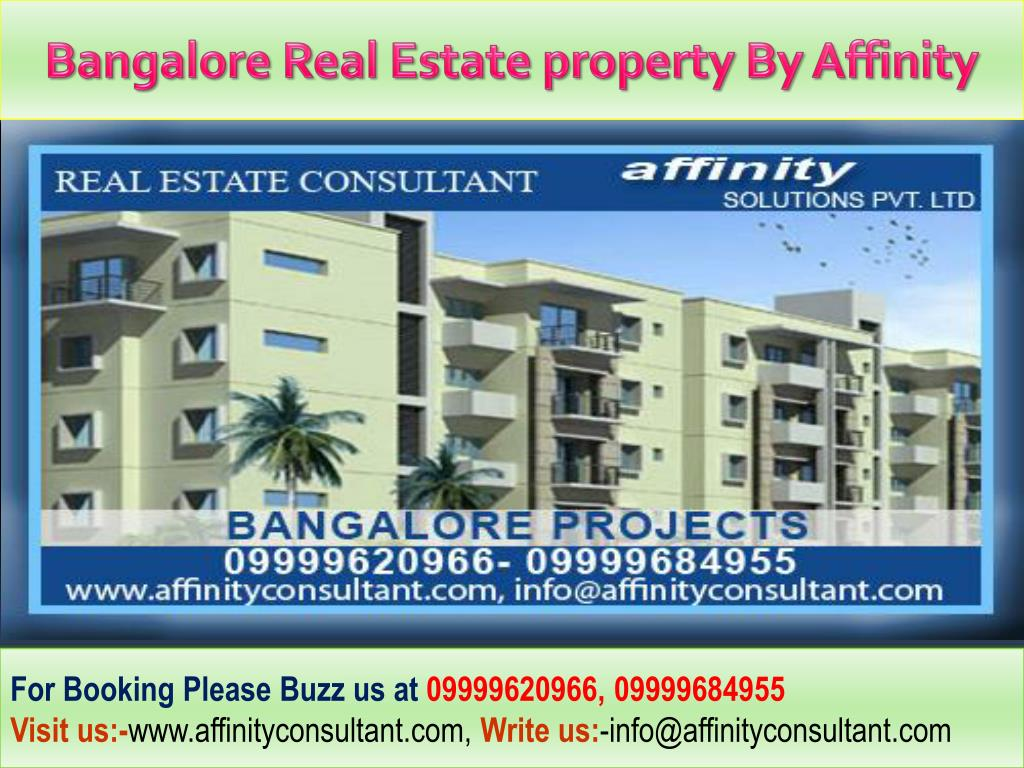 Bangalore Real Estate property By Affinity