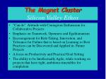 the magnet cluster silicon valley ethos