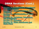 osha sections cont16
