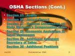 osha sections cont19