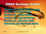 osha sections cont20
