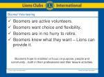 boomer volunteering
