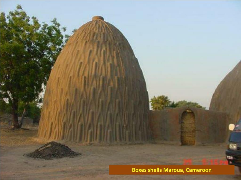 Boxes shells Maroua, Cameroon
