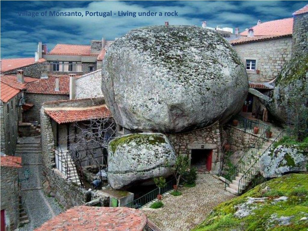 Village of Monsanto, Portugal - Living under a rock