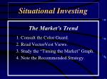 situational investing