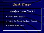 stock viewer