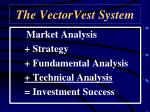 the vectorvest system